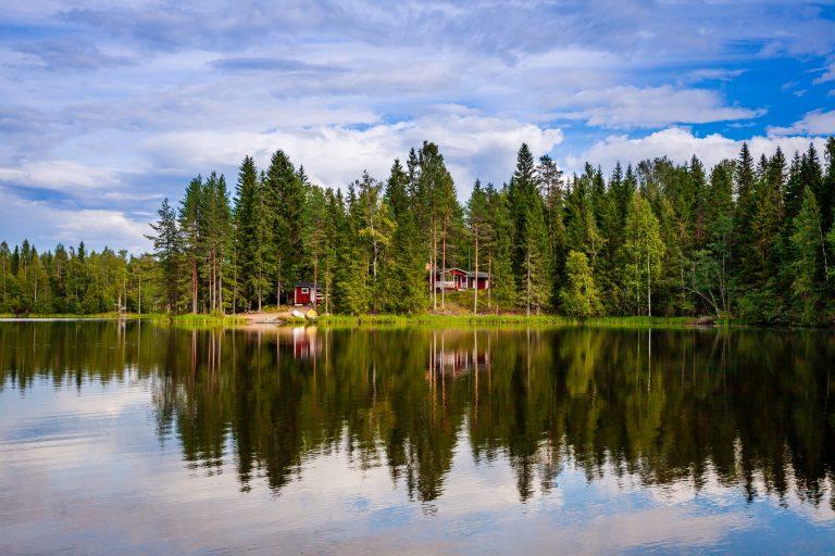 Miettilän Juustola sijaitsee kauniissa maisemissa